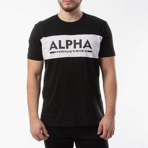 Koszulka męska Alpha Industries Alpha Inlay T 186505 03 obraz