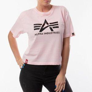 Koszulka damska Alpha Industries Big A T Wmn 126054 491 obraz