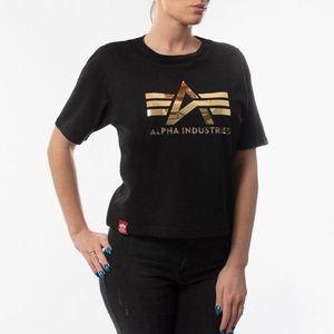 Koszulka damska Alpha Industries Big A T Wmn 126054 03 obraz