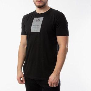 Koszulka męska Alpha Industries Reflective Label T 126501 03 obraz