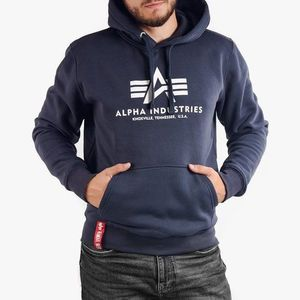 Bluza męska Alpha Industries Basic Hoodie 178312 02 obraz