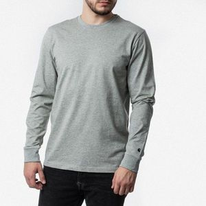 Koszulka męska Carhartt WIP Longsleeve Base I026265 GREY HEATHER/BLACK obraz