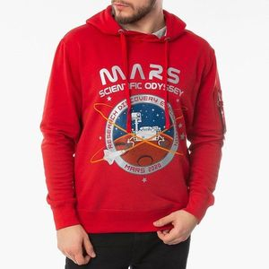 Bluza męska Alpha Industries Mission To Mars Hoody 126330 328 obraz