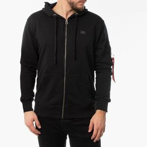Bluza męska Alpha Industries X-Fit Zip Hoodie 158322 03 obraz