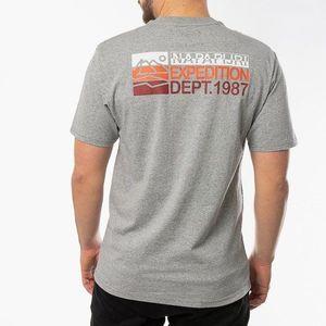 Koszulka męska Napapijri Sole Graphic T-shirt NA4EC3 160 obraz