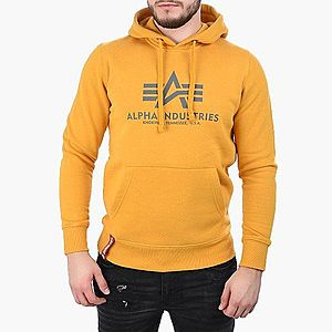Bluza męska Alpha Industries Basic Hoodie 178312 441 obraz