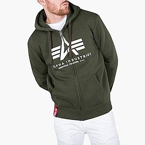 Bluza męska Alpha Industries Basic Zip Hoodie 178325 257 obraz