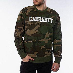 Bluza Carhartt WIP Sweatshirt I024668 CAMO LAUREL/WHITE obraz