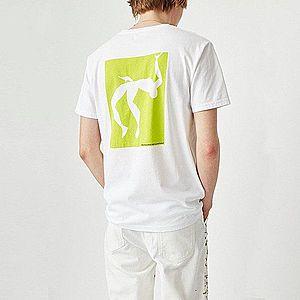 Koszulka męska Wood Wood High Jump 12015712-2334 BRIGHT WHITE obraz