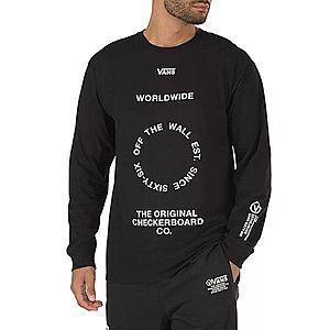 Koszulka męska Vans Distortion Longesleeve VA49QLBLK obraz