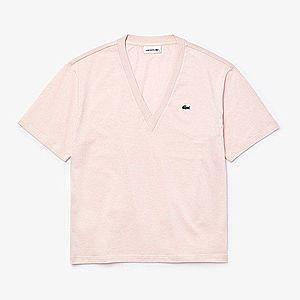 Koszulka damska Lacoste V-Neck T-shirt TF5458-ADY obraz