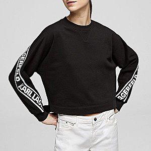 Bluza damska Karl Lagerfeld Rue St-Guillaume Logo Sweat 201W1852 999 obraz