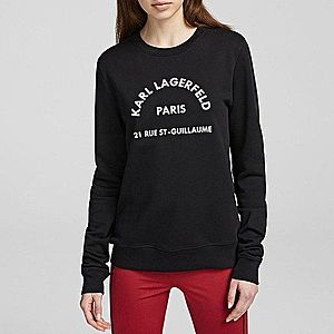 Bluza damska Karl Lagerfeld Address Logo Sweat 201W1801 999 obraz
