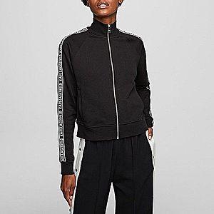 Bluza damska Karl Lagerfeld Zip Up Sweat Logo 201W1808 999 obraz