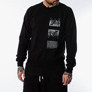 Bluza męska Rick Owens DRKSHDW Crewneck Sweat DU20S5270 RIGEP2 BLACK PEARL obraz