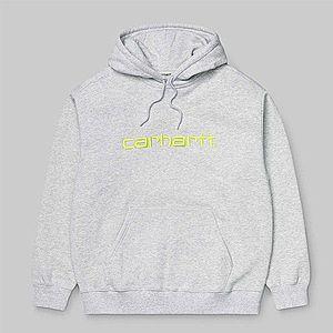 Bluza damska Carhartt WIP W' Hooded Sweatshirt I027476 ASH HEATHER/LIME obraz