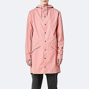 Płaszcz damski Rains Long Jacket 1202 CORAL obraz