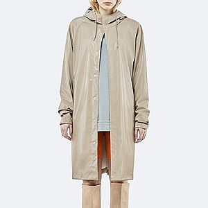 Płaszcz damski Rains Coat 1256 SHINY BEIGE obraz