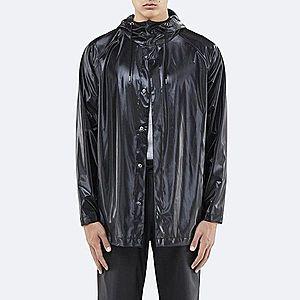 Płaszcz Rains Short Coat 1267 SHINY BLACK obraz