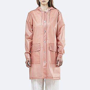Płaszcz damski Rains Transparent Hooded Coat 1269 FOGGY CORAL obraz
