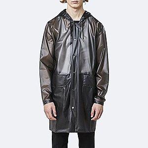 Płaszcz Rains Transparent Hooded Coat 1269 FOGGY BLACK obraz