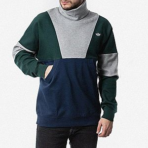 Bluza męska adidas Originals Polo Neck Sweat FM2208 obraz