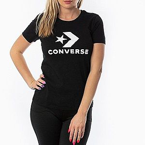 Converse Star Chevron Koszulka Czarny obraz