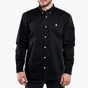 Koszula męska Carhartt WIP Madison Shirt I023339 BLACK/WHITE obraz