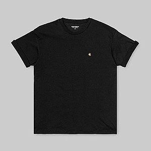 Koszulka damska Carhartt WIP Chasy I027581 BLACK/GOLD obraz