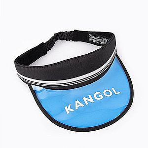 Czapka daszek Kangol Retro Visor K5277 BLACK obraz