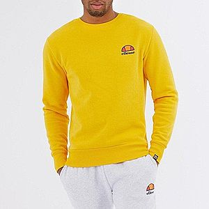 Bluza męska Ellesse Diveria Crew Sweatshirt SHE02215 YELLOW obraz