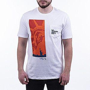 Koszulka męska HUF Liberty Pocket T-shirt TS00997 WHITE obraz