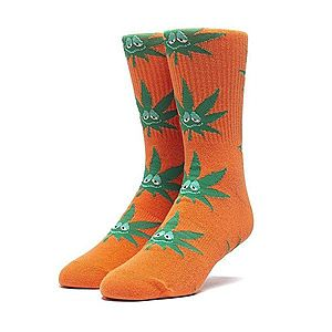 Skarpetki HUF Green Buddy Santa Sock SK00425 RUSSET ORANGE obraz