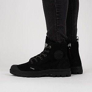 Czarne buty damskie obraz