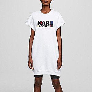 Sukienka Karl Lagerfeld Bauhaus Logo Sweat Dress 201W1817 100 obraz