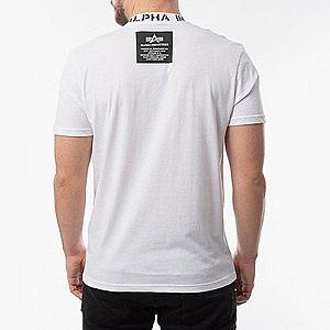 Koszulka męska Alpha Industries Neck Print T 126548 09 obraz