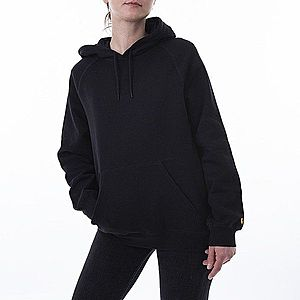 Bluza damska Carhartt WIP W' Hooded Chase Sweatshirt I027481 BLACK/GOLD obraz