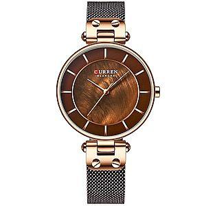 Zegarek CURREN Creative - Brązowy KP6204 obraz
