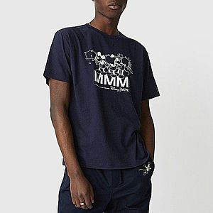 Koszulka męska Wood Wood x Disney Bobo T-shirt 12025702-2334 NAVY obraz