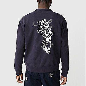 Bluza męska Wood Wood x Disney Hugo Sweatshirt 12025619-2486 NAVY obraz