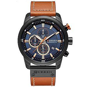 Zegarek CURREN - Brązowy Czarny obraz