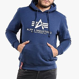 Bluza męska Alpha Industries Basic Hoodie 178312 435 obraz