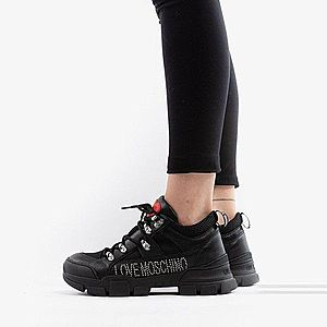 Buty damskie sneakersy Love Moschino Laminated Trekking Sneakers JA15554G08JD200A obraz