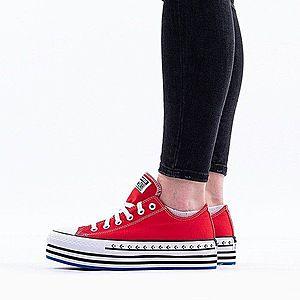 Buty damskie sneakersy Converse Chuck Taylor Platform Layer OX 566763C obraz
