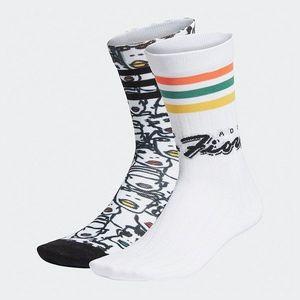 Skarpetki dziecięce adidas Originals x Fiorucci Sock 2 Pack FL9637 obraz