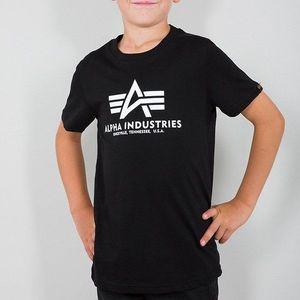 Koszulka dziecięca Alpha Industries Basic T Kids/Teens 196703 03 obraz