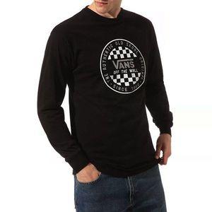Koszulka męska Longsleeve Vans OG Checker VN0A49SZBLK1 obraz