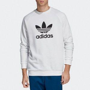 Bluza męska adidas Originals Trefoil Warm-Up Crew Sweatshirt DV1544 obraz