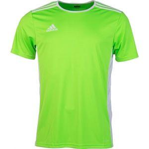 adidas ENTRADA 18 JSY jasnozielony M - Koszulka piłkarska męska obraz