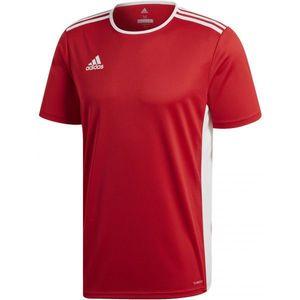 adidas ENTRADA 18 JSY czerwony S - Koszulka piłkarska męska obraz